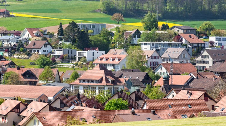 Blick auf Freienwil: Bisher hatten die Gegner eine Mobilfunkantenne verhindert. (Sandra Ardizzone / BAD)