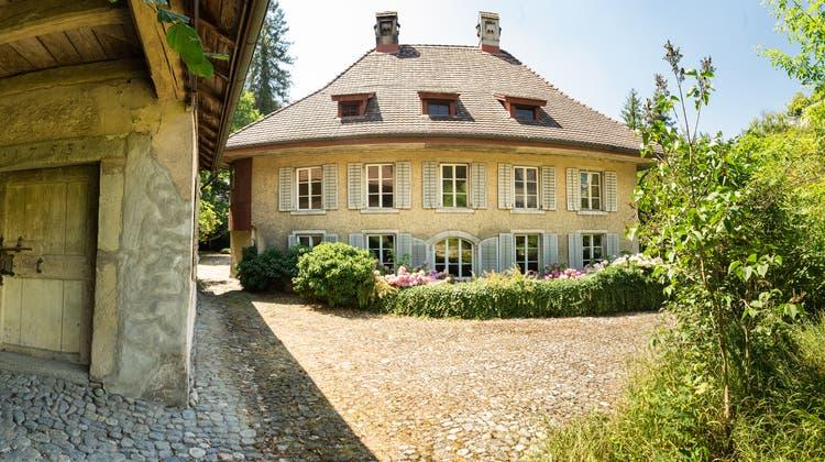 Das Mieg-Haus an der Schlossgasse Lenzburg, fotografiert im Sommer 2018 (Chris Iseli)