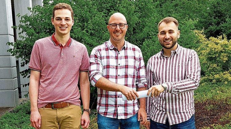 Wechsel im CVP-Präsidium: Christoph Steuble übergibt an Dusan Jaksic und Luca Frei