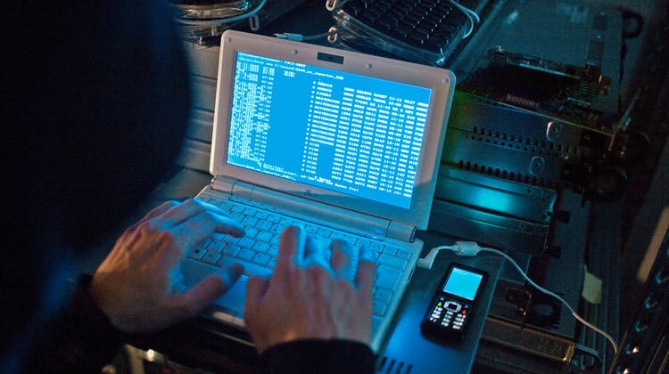 Die Websites der Stadt und des Kantons St.Gallen waren am Freitagmorgen wegen einer böswilligen Cyberattacke offline gegangen. (Bild: Gaetan Bally / KEYSTONE)