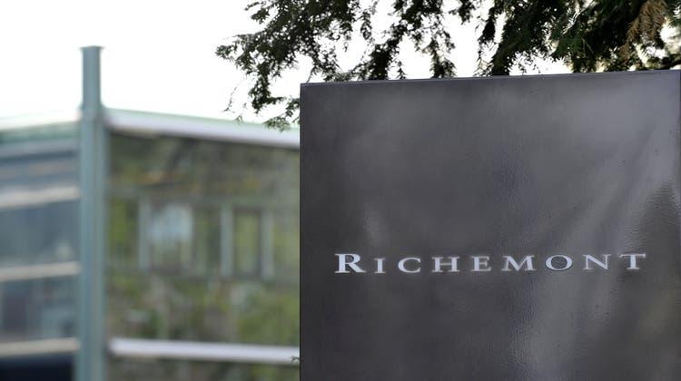 Der Luxusgüterkonzern Richemontlegt ein kräftiges Wachstum hin. (Keystone)
