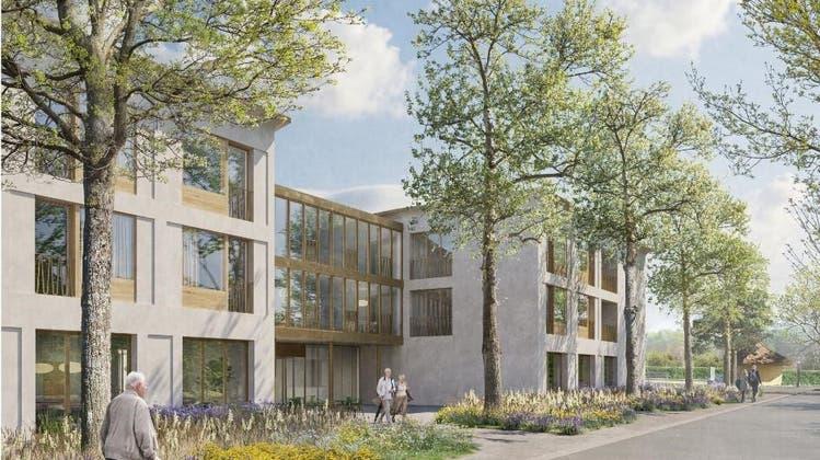 So soll der Erweiterung Alters- und Pflegeheim St. Katharinen Solothurn aussehen, sobald er gebaut ist. (ZVG)