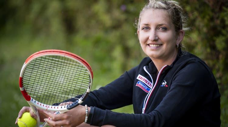 Die Lausannerin spielte sich 2016 in die Top-Ten der Tennisweltrangliste. (Keystone)