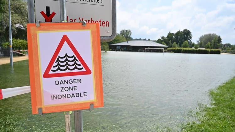 Hochwasser-Rekord: Die Situation am Neuenburgersee bleibt heikel