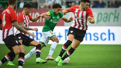 Der FCSG gegenAthletic Bilbao
