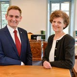 Marcel Ogg, Vizepräsident, und Anna Katharina Glauser Jung, Präsidentin des Thurgauer Obergerichts. (Donato Caspari)