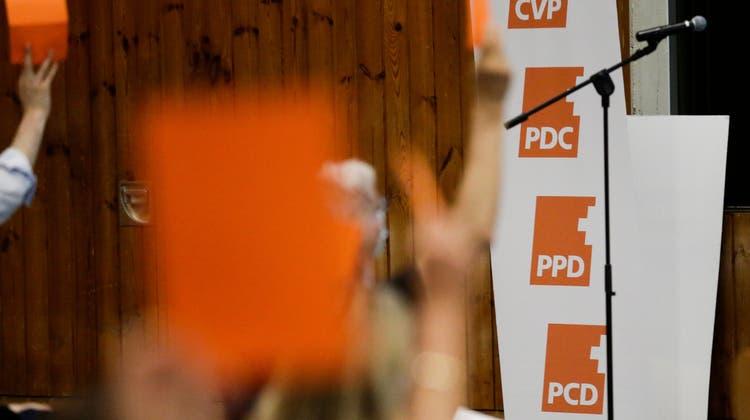 Gehört der Vergangenheit an: das alte CVP-Logo. (Themenbild: Donato Caspari)