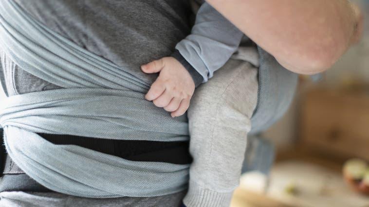 Fünf Standorte weniger hat die Mütter- und Väterberatung im Bezirk Brugg ab Ende 2021. (Bild: Gaetan Bally / KEYSTONE)