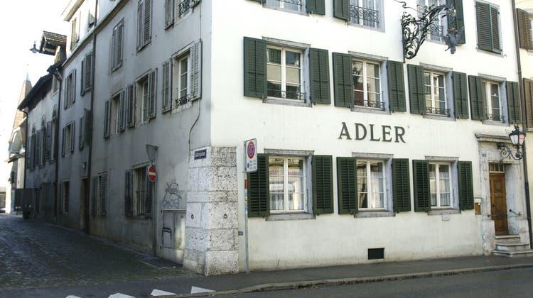 Restaurant Adler in Solothurn. (Maddalena Tomazzoli)