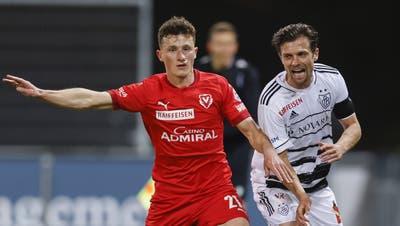 Valentin Stocker und der FC Basel könnten in der Qualifikation für die Conference League auf den FC Vaduz treffen. (Christian Merz / KEYSTONE)