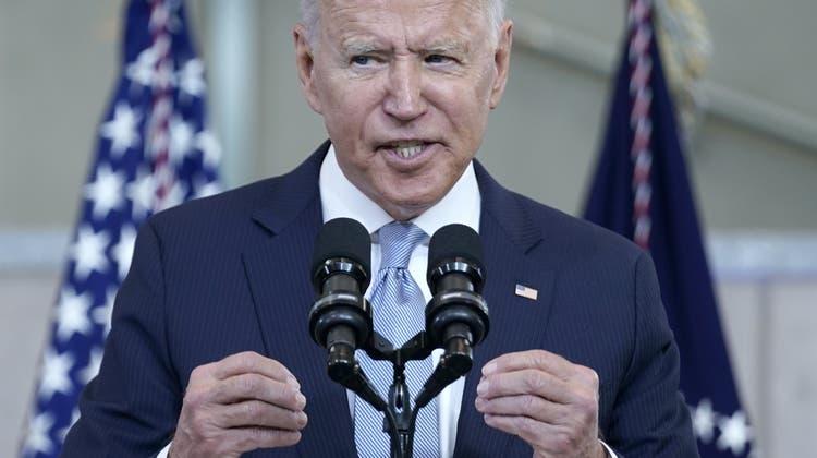 Regiert, wies ihm gefällt: US-Präsident Joe Biden. (Evan Vucci / AP)