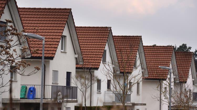 «Absolute Mangelware»: Einfamilienhäuser (hier in Frauenfeld) im schweizerischen Immobilienboom. (Nana Do Carmo)