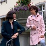 Verstehen sich auf Anhieb: Sybille Wild (links) und Heidi Schmid. (Bild: Pascal Bruhin)