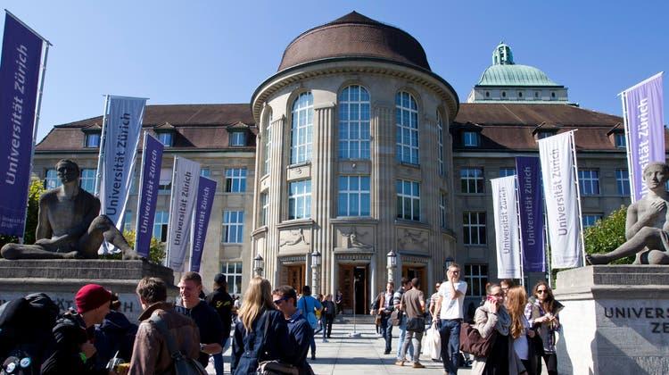 Das Hauptgebäude der Universität Zürich. Der ganze Standort wird in den nächsten 25 Jahren neu gestaltet. (Archivbild) (Keystone)