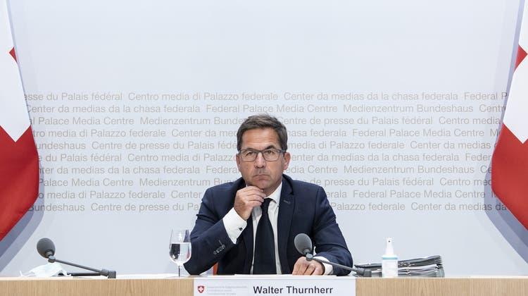 Bundeskanzler Walter Thurnherr prüft im Auftrag des Bundesrates, was bei der Pandemiebewältigung schief gelaufen ist. (Keystone)