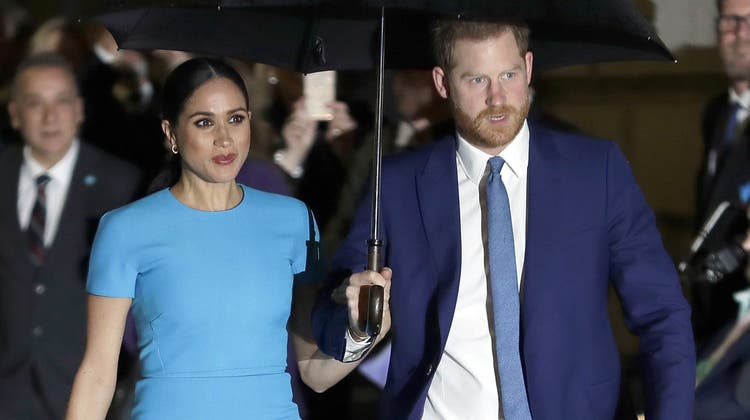 Meghan und Prince Harry. (Bild: Keystone/ Kirsty Wigglesworth / AP)