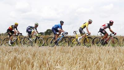 Die Tour de France ist das Rennen der Leiden. (Keystone)