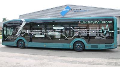 Die Busse des Typs MAN Lion's City E werden ab Dezember 2022 auf den Stadtlinien verkehren. (zvg)