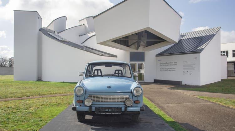Die Eierbecher von Josef Böhm in Hühnerform aus den 1970er-Jahren. (Vitra Design Museum/ Andreas Sütterlin)