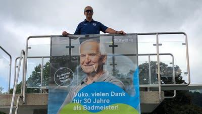 Badmeister Vuko Ratkovic verantwortet seine letzte Saison in der Badi Wattwil. (Bild: PD)