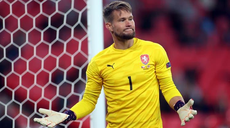 Tomas Vaclik ist für Tschechien ein sicherer Rückhalt, zugetraut hat ihm das fast niemand. (Carl Recine / Pool / EPA)