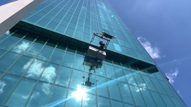 Notfall im 23. Stock des Prime Towers: Hier proben Höhenretter den Ernstfall