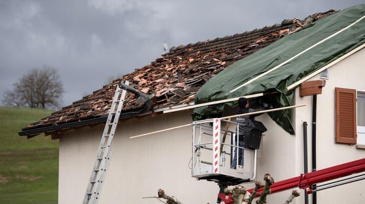 In so einer Situation bedarf es ausserhalb der Bauzone einer Baubewilligung mit kantonaler Zustimmung. (Keystone)