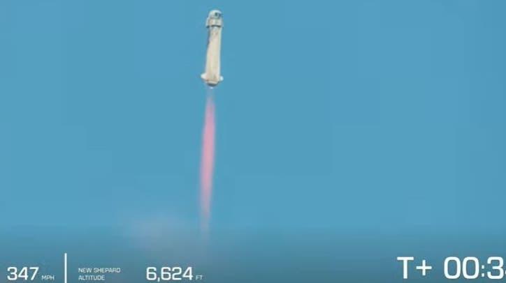 Amazon-Gründer Bezos nach rund zehnminütigem All-Ausflug wieder auf der Erde gelandet