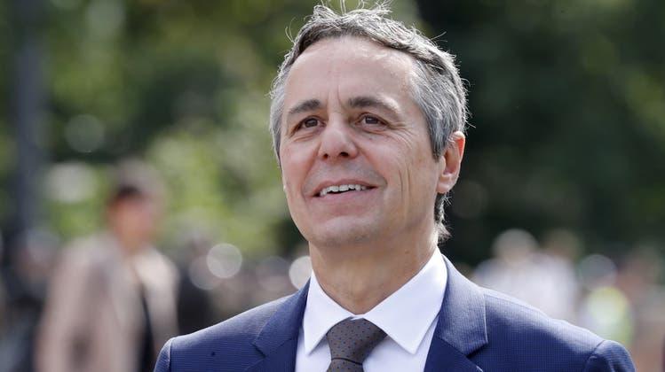 Wünscht sich einen fixen Ansprechpartner, der auch was zu sagen hat: Aussenminister Ignazio Cassis (Archiv). (Keystone)