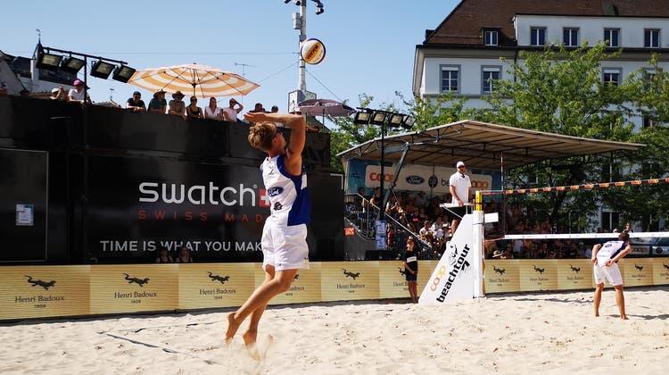 Schon in Kloten waren Florian Breer und Marco Krattiger erfolgreich. Jetzt haben sie auch die Station in Basel gewonnen. (Esteban Waid)