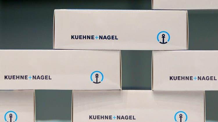 Die Dienstleistungen von Kühne + Nagel sind Anfang 2021 sehr gefragt. (Keystone)
