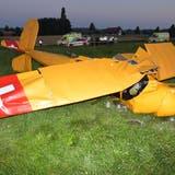 Am Dienstagabend stürzte ein Kleinflugzeug im solothurnischen Subingen ab. (Bild:ArgoviaToday)