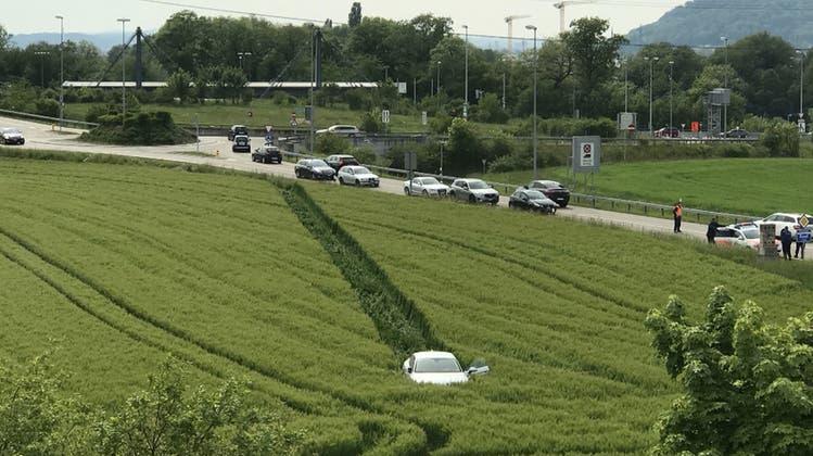 Die Flucht, die der Mann auf der Autobahn hinlegte, war reif für eine «Cobra 11»-Folge. (Symolbild/fotolia)