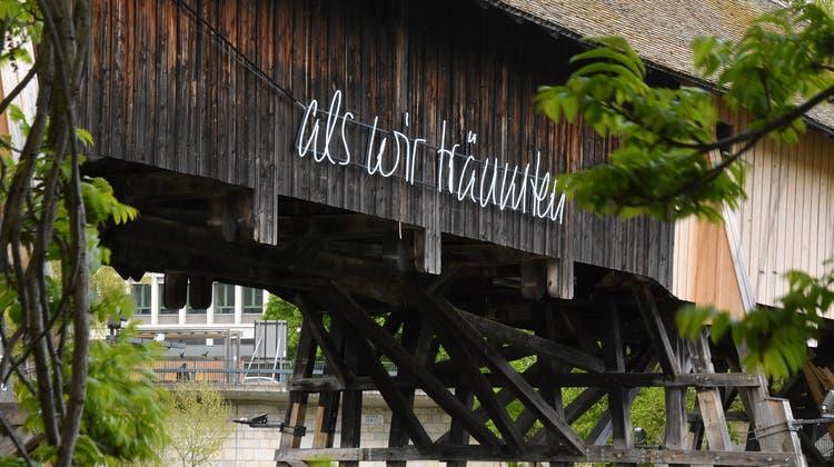«als wir träumten» inspiriert auch den Kolumnisten Lukas Lütolf. (Bruno Kissling / Oltner Tagblatt)