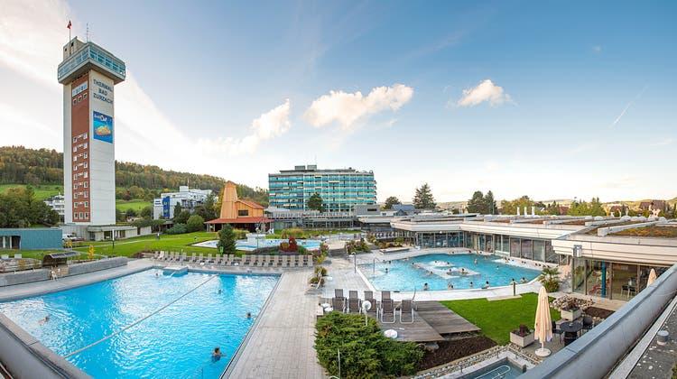 Das Thermalbad in Bad Zurzach ist heute die grösste Freilufttherme der Schweiz. (zvg)