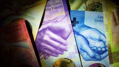 Die Juso fordern eine höhere Besteuerung von Zinsen und Dividenden. (Bild: Gaëtan Bally/Keystone)