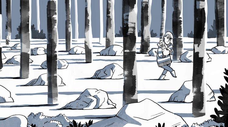 «Work in Progress» aus Rina Josts zweiter Graphic-Novel. (Bild: Rina Jost)