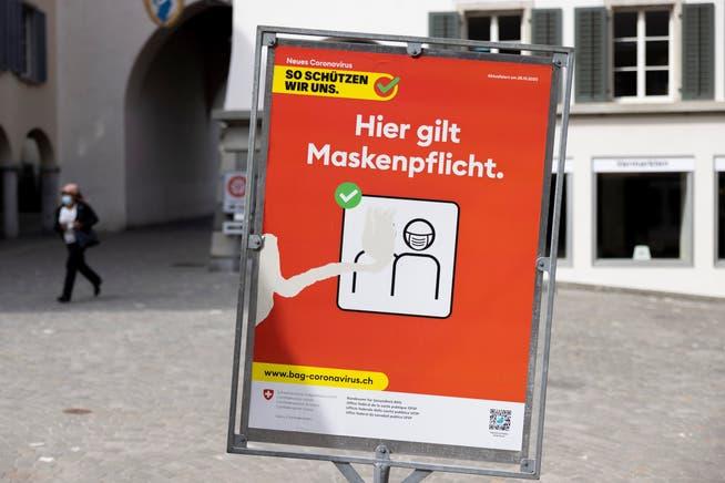 Das Bundesgericht hiess die Maskenpflicht in Freiburger Läden gut.