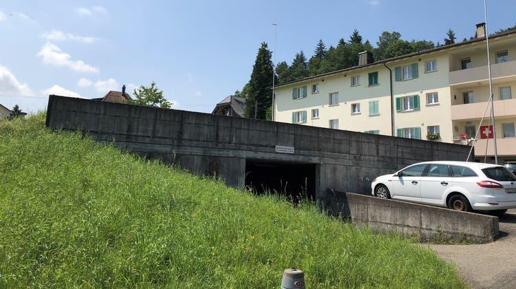 Anstelle derTiefgarageam Hügeliwegsoll eine Überbauung entstehen. (Florian Wicki)