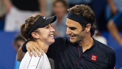 Belinda Bencic lässt sich die Vorfreude auf die Olympischen Spiele trotz schwieriger Voraussetzungen nicht verderben. (Urs Lindt / freshfocus)