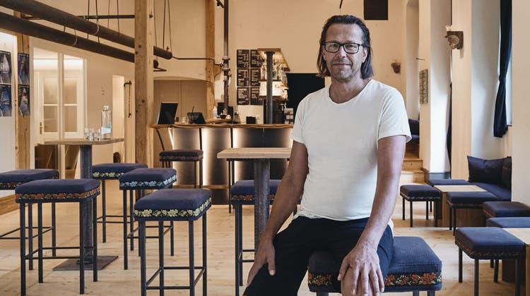 Seit 2002 führt Inhaber Martin Zihlmann die«Obere Fabrik» in Sissach. (Roland Schmid)