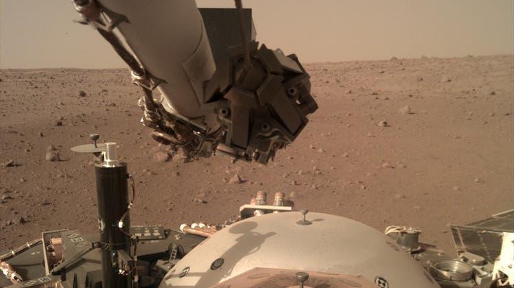 Der InSight-Roboter der Nasa ist seit November 2018 auf dem Mars.