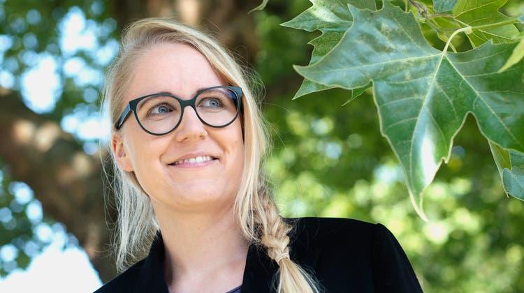 «Ich liebe Herausforderungen»: Tina Meyer, Geschäftsführerin der Lungenliga Zentralschweiz. (Dominik Wunderli (Emmen, 21. Juli2021))