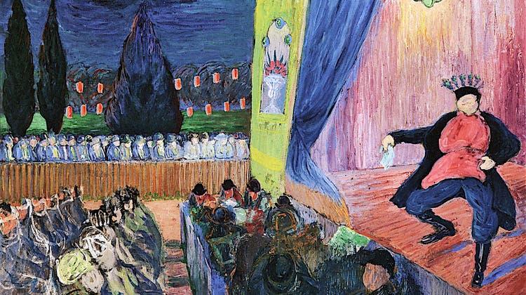 Marianne von Werefkin«Sommerbühne» (Bild: Fondazione Marianne Werefkin)