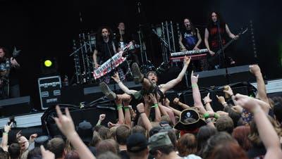Metal Day Festival 2012 in Z7 in Pratteln. (Juri Junkov)