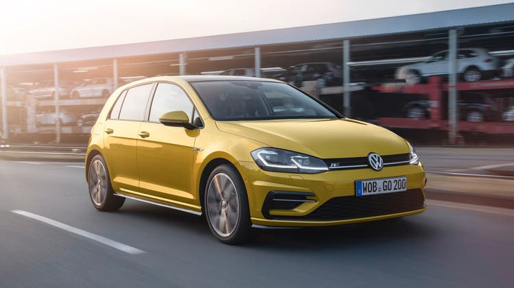 Platz 1: VW Golf. (Volkswagen AG)