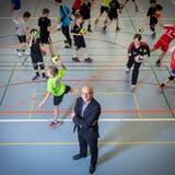 Peter Streuli ist seit einem Jahr Präsident der IG Sport Region Gossau. (Bild: Urs Bucher (21. Mai 2019))