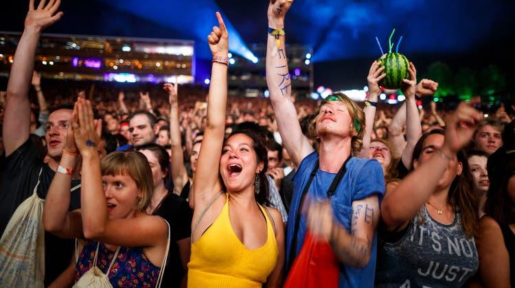 Konzerte sind das beliebteste Eventformat in der Schweiz. (Keystone)