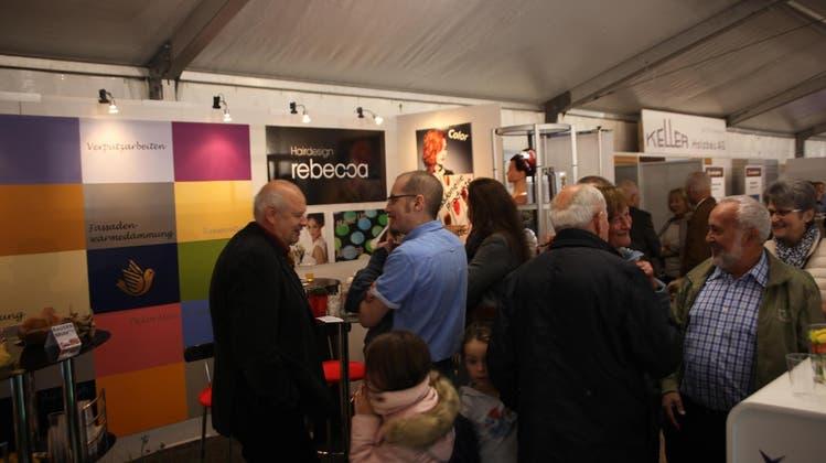 Das «gesellige Beisammensein» der Gewerbeausstellungen soll wieder möglich werden. (Bild: PD)
