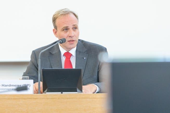Marco Hardmeier, Präsident der Konferenz der Aargauischen Staatspersonalverbände.
